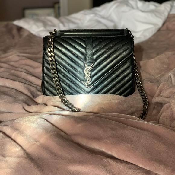 Yves Saint Laurent Handbags - YSL medium college bag